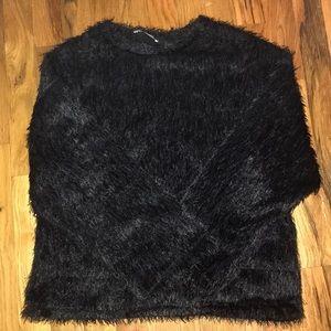 Zara 90s Fuzzy Top